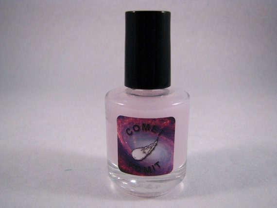 Comet Vomit Matter of Shine matte nail polish top coat