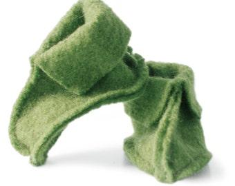 HATSJOE - woolen baby booties