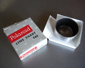 Vintage Polaroid 545 Lens Shade - new in box