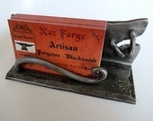 BUISNESS CARD HOLDER  Hand Forged and Signed by Blacksmith Naz