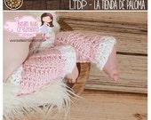 INSTANT DOWNLOAD - Crochet Vintage Swirl Legwarmers Pattern - Baby legwarmers pattern - Crochet pattern