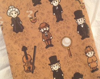 Sherlock Holmes iPad Mini or eReader Case - Kindle Fire, Paperwhite, Nook Simple Touch, HD, Glowlight, Color, Blackberry Playbook and More