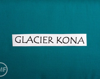 One Yard Glacier Kona Cotton Solid Fabric from Robert Kaufman, K001-146
