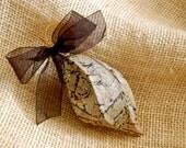 Handmade Decoupage Ornament