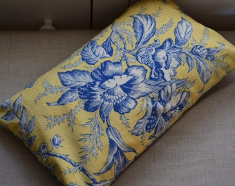 Lavender Pillow Home Decor Cottage Chic  - In Stock Ready to Ship