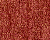 Two Tone Plain Dobby Weave - Work Horse Upholstery Fabric - High Performance Fabric - Color: Pomegranate - 1 yard