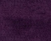 Plain Weave Super Soft Durable Chenille for Upholstery - Contemporary to Traditional Solid Upholstery Fabric - Color- Eggplant - per yard