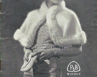 PDF Knitting Pattern for 6 1930's Fashions - Fabulous Glamorous Retro Designs  - Instant Download