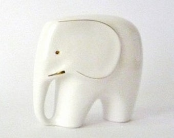 Vintage Porcelain Elephant (Big)
