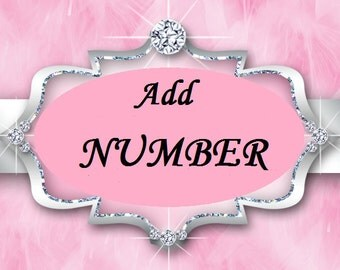 Add a NUMBER