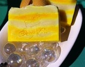 Luxury Pineapple Whip Cold Process Soap