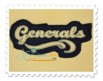 Generals - Distressed Applique