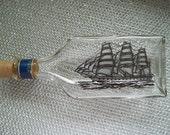 Vintage Avon Captains Pride Ship Aftershave Bottle