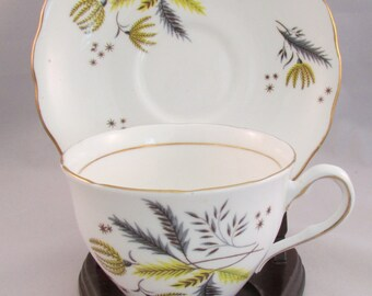 Colclough Fine Bone China  Tea Cup and Saucer Old Mark