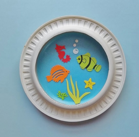 Fishbowl kids craft kit for Fish bowl craft
