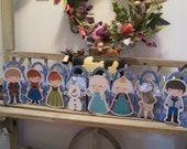 Frozen Gang Inspired Gable Favor Boxes Set of 16