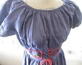 Vintage Mr Kolbert Denim Dress Size 6