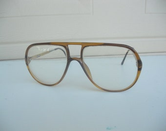 Vintage Authentic Carrera Aviator Eyeglasses