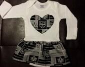 LA Kings Onesie Dress