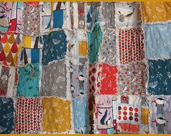 labor only- crib rag quilt - CUSTOM