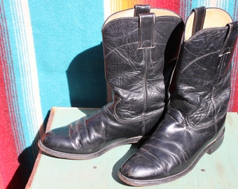 Black Justin Ropers size 6 1/2 C