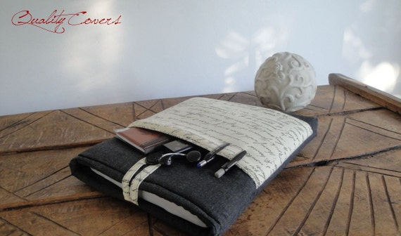 Customizable Padded Sleeve for tablet and laptop - Customizable for Fabrics and Size Laptop