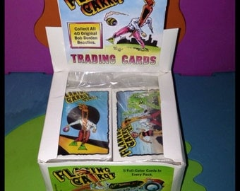 Flaming Carrot Trading Cards