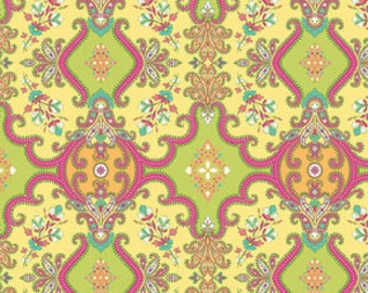 90040-  Free Spirit Design Loft - Garden collection - Courtyard in spring color- 1 yard