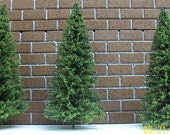 MINIATURE PINE TREES - 10 - Five Inch Tall / Great for Weddings, Hostess Gifts/ Fairy Gardens, Party Favors, model railroads, Doll Houses
