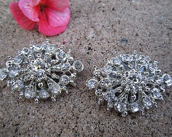 Bridal Rhinestone Shoe Clips Wedding Shoe Accessory -- SIMONE
