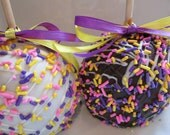 Easter Candy - Chocolate Caramel Apples -4