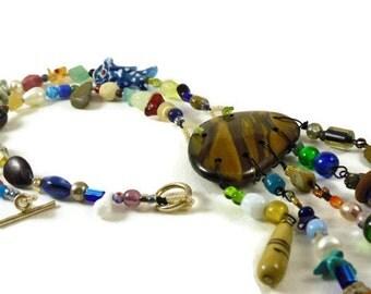 Gypsy Necklace- tigereye