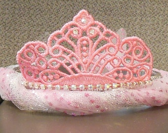 Glinda the Good Witch Tiara for your Wizard of Oz party