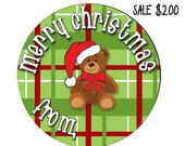 Christmas SALE, Gift Tag Stickers, Teacher Gifts, INSTANT DOWNLOAD
