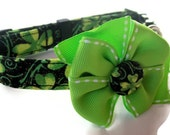St. Patrick's Day Shamrock Dog Collar size  Small