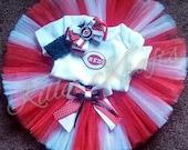 Cincinnati Reds inspired tutu outfit