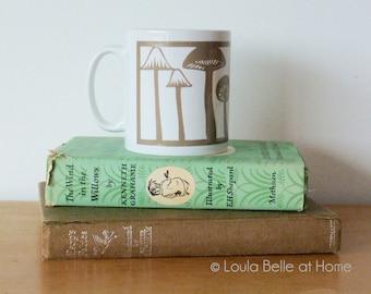 HALF PRICE Mushroom Medley Porcelain Mug