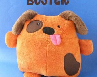 Buster - a dog stuffed animal pattern PDF (digital pattern, puppy softie, plush)