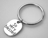 Key Ring - So Very Blessed