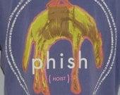 Vintage 1994 PHISH Hoist Concert Tour T-Shirt Jam Rock 1990s Tee Shirt 90s