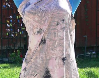 art deco plus size summer  one shoulder top size x large