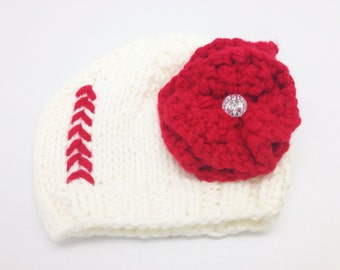 Baseball Knit Hat (One size fits all)