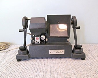 Vintage Argus Film Editing Gadget Film Making Machine Geekery Argus Fairchild Film Viewing