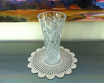 Vintage Crochet Doily - Round Doily - Crochet Doilies