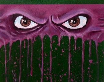 "Ninja Turtles - DONATELLO - Art Print Reproduction 10"" x 12"" - signed by Artist / TMNT"