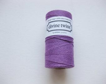 Full Spool - Solid PURPLE DIVINE TWINE - Purple Bakers Twine (240 yards)