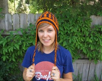 Auburn Tigers Knit Hat