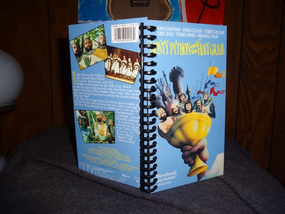 Monty Python and the Holy Grail VHS tape notebook