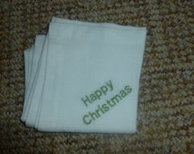 Unique Personalised Hanky Related Items Etsy