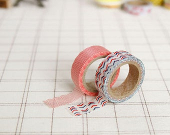 Assorted Patten Amuze Adhesive Masking Tape (2 in a set)